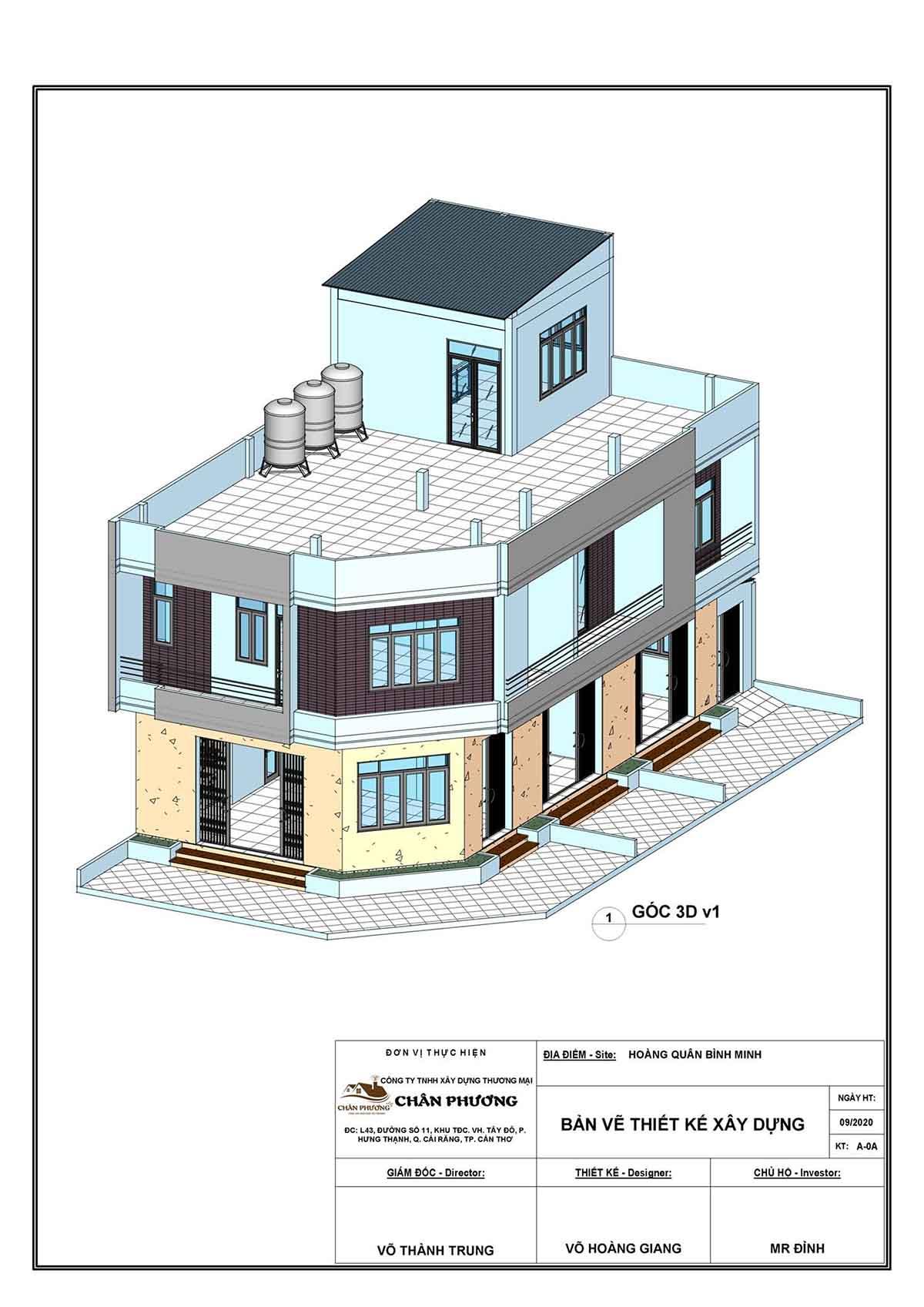 Thiết kế Shophouse Vĩnh Long