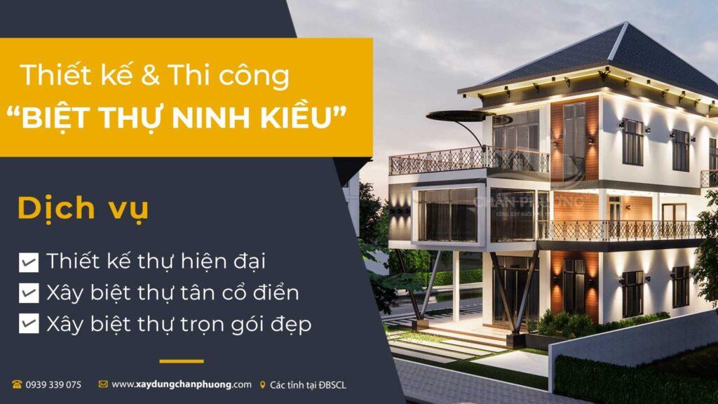 Xây Biệt Thự Ninh Kiều